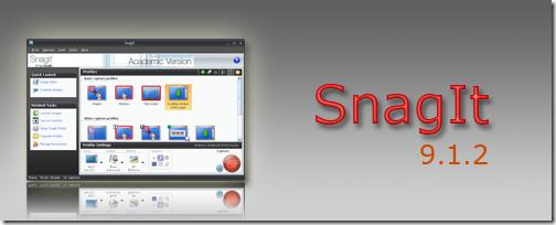 SnagIt 9.1.2