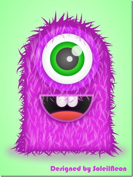 Illustrator Monster