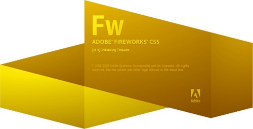 Adobe Fireworks CS5 Splash Screenshot