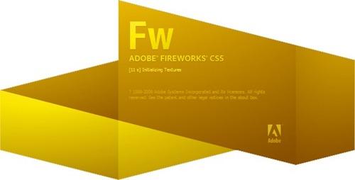 Adobe Fireworks CS5 Splash Screenshot