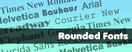 rounded-fonts
