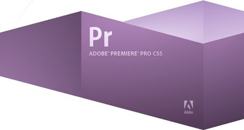 Adobe Premiere Pro CS5 Splash Screenshot