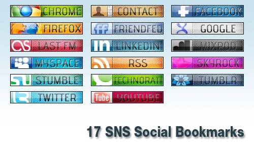 social-media-bookmarks-display