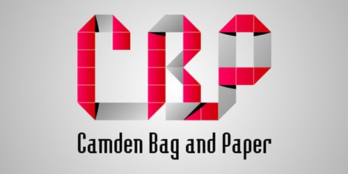 12 red creative logo Camden Baq and Paper