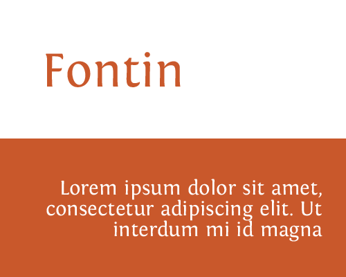 font-fontin