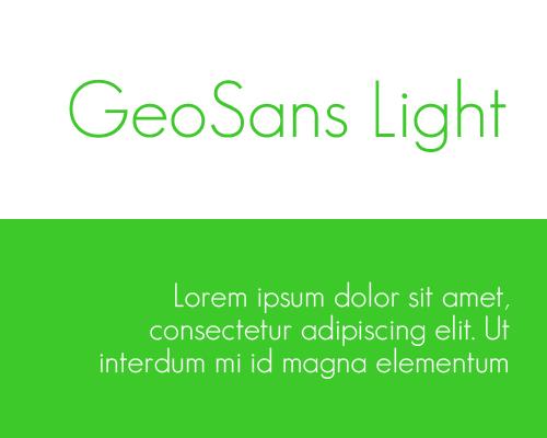 font-geosans-light