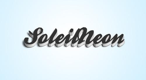 SoleilNeon 3D