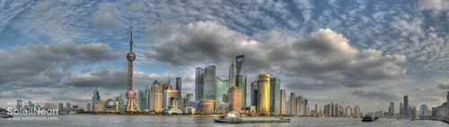 Skyscrapers in Lujiazui