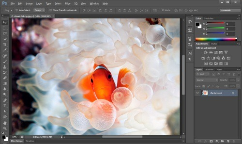 photoshop cs6 screenshot small Adobe Photoshop CS6 Beta测试版下载与体验