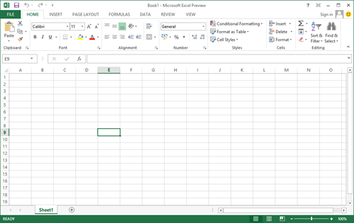 office 2013 excel screenshot Office 2013 预览版试用体验