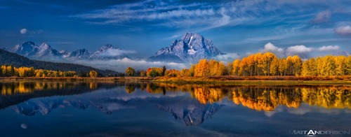 Ox Bow Bend #2 in Color by Matt Anderson
