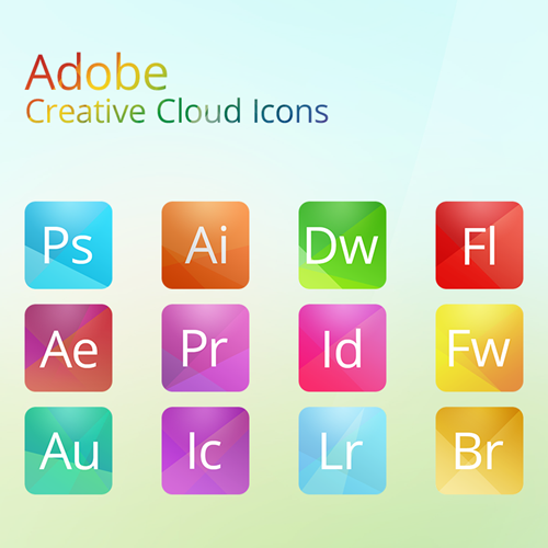 Adobe Icons Showcase