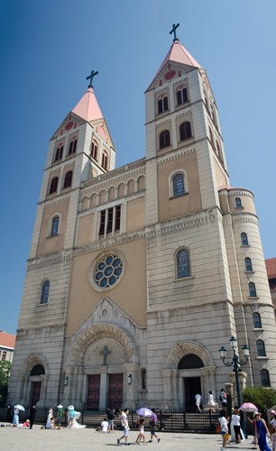 St. Michael's Cathedral in Tsingtao 2