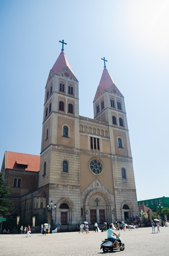 St. Michael's Cathedral in Tsingtao
