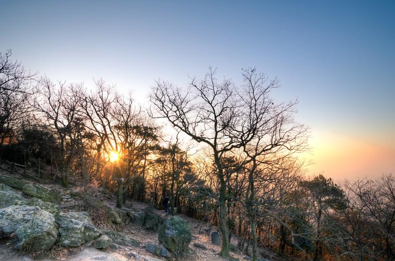 Sunrise Over Purple Mountain-3