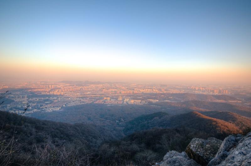 Sunrise Over Purple Mountain-4