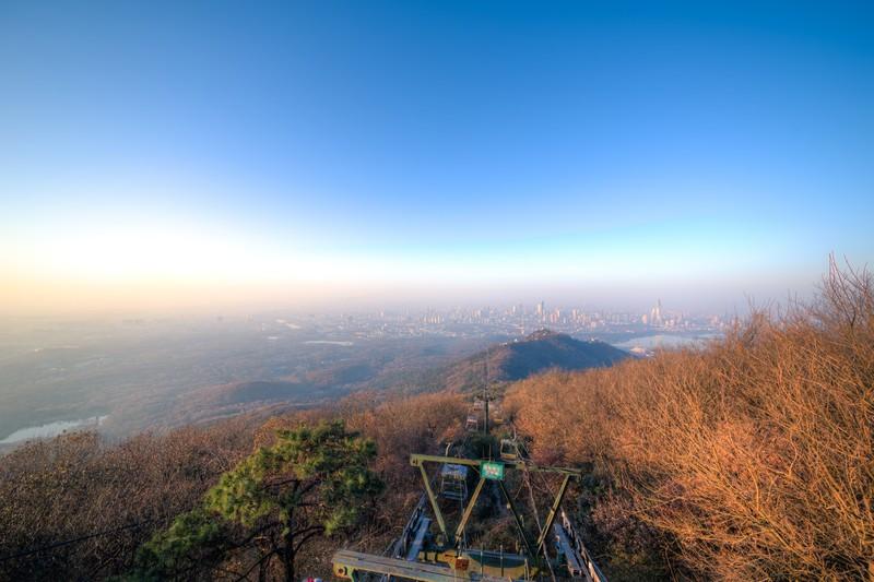 Sunrise Over Purple Mountain-5