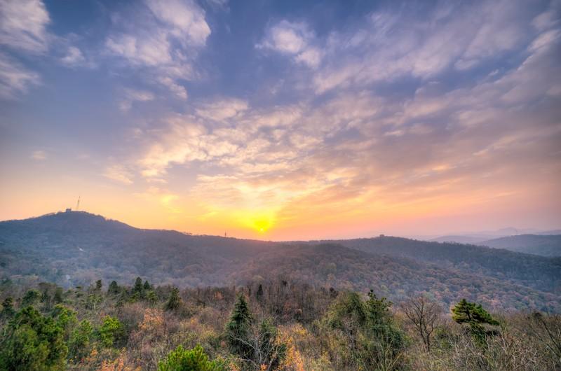 Sunrise Over Qixia Mountain 2