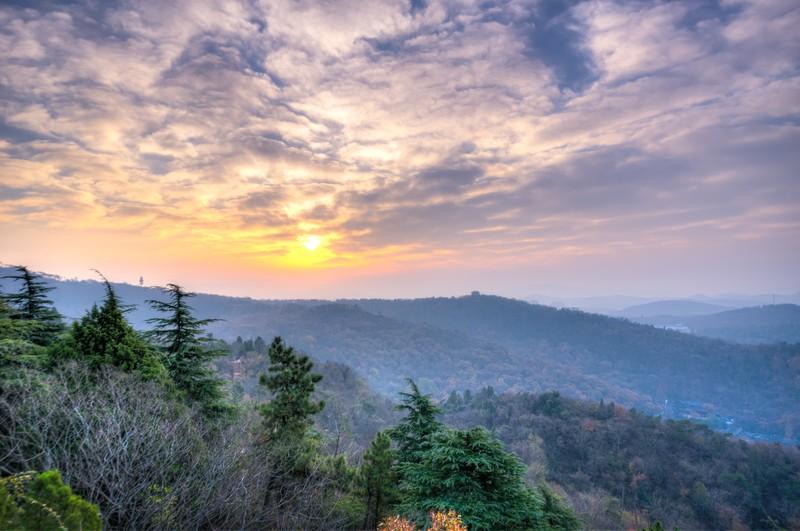 Sunrise Over Qixia Mountain 3