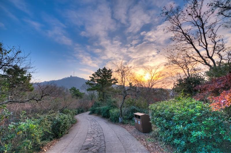 Sunrise Over Qixia Mountain 4