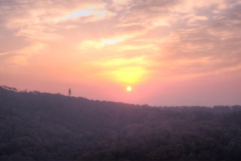 Sunrise Over Qixia Mountain 5