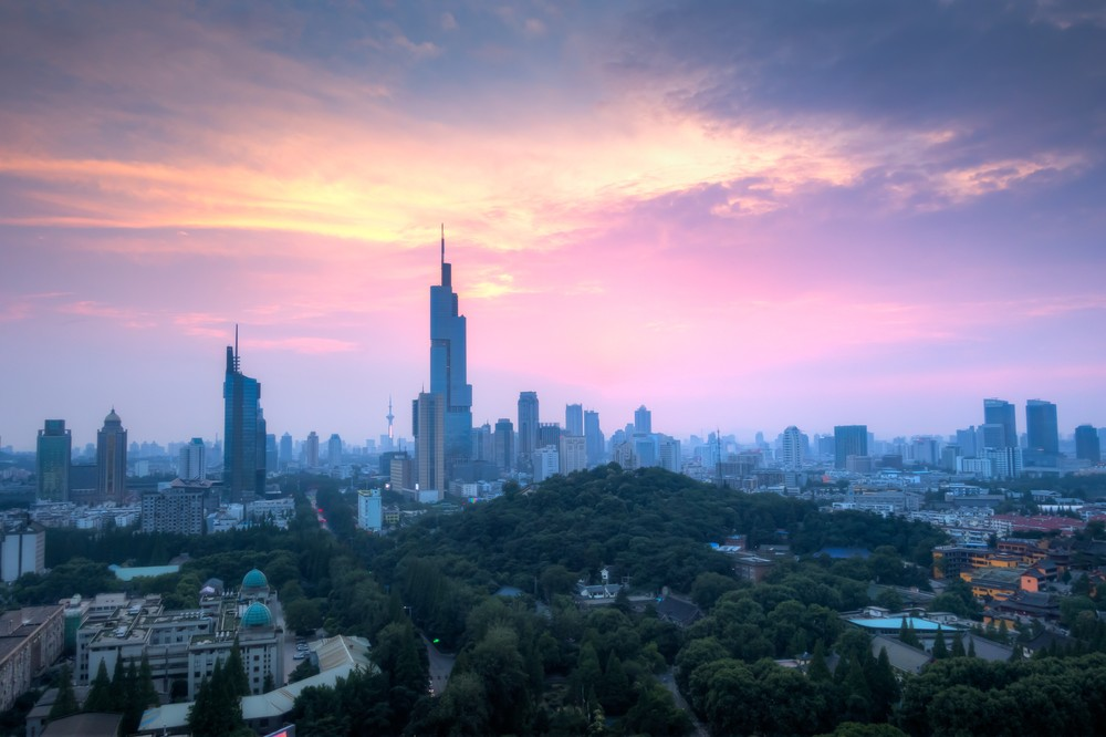 Sunset Above The Zifeng Tower 2